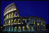 Colosseum, the city greatest amphitheater. Rome, Lazio, Italy ( color)