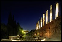 Via Sacra at night. Rome, Lazio, Italy