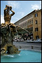 Tritone Fountain. Rome, Lazio, Italy ( color)