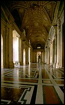 Entrance of Basilica San Pietro. Vatican City (color)
