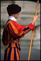 Swiss guard. Vatican City ( color)