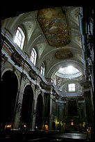 Church interior. Naples, Campania, Italy