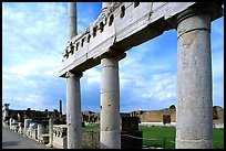 The Forum. Pompeii, Campania, Italy