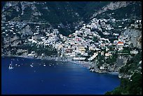 The picturesque coastal town of Positano. Amalfi Coast, Campania, Italy