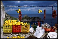 Lemons for sale. Amalfi Coast, Campania, Italy