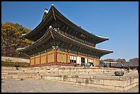 Throne Hall, Changdeokgung Palace. Seoul, South Korea (color)