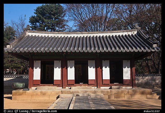 Jaegung, Jongmyo shrine. Seoul, South Korea (color)