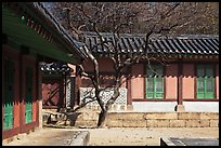 Jeongsa-cheong, Jongmyo royal ancestral shrine. Seoul, South Korea