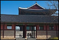 Gyotae-jeon, Gyeongbokgung royal Joseon palace. Seoul, South Korea ( color)