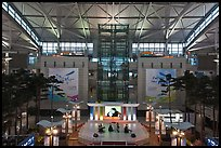 Classical music concert, Incheon international airport. South Korea ( color)