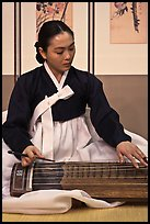 Traditional music performer. South Korea ( color)