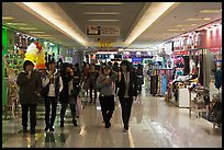Underground shopping center. Daegu, South Korea ( color)
