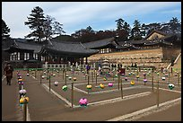 Labyrinth, Haeinsa Temple. South Korea