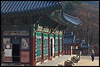 Haeinsa, temple of Jogye Order of Korean Buddhism. South Korea ( color)