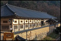 Janggyeong Panjeon, depository for the Tripitaka, Haeinsa Temple. South Korea ( color)