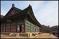 Daejeokkwangjeon (Hall of Great Silence and Light), Haein-sa Temple. South Korea