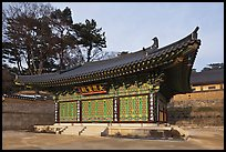 Side hall, Haein sa Temple. South Korea ( color)