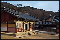 Haeinsa, Buddhist temple of Jogye Order in the Gaya Mountains. South Korea ( color)
