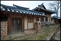 Yangodang residence. Hahoe Folk Village, South Korea (color)