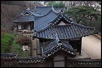 Okyeon pavilion. Hahoe Folk Village, South Korea ( color)
