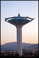 Water tower at dawn, Busan. South Korea ( color)