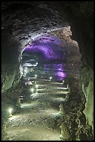 Geomunoreum Lava tube. Jeju Island, South Korea (color)