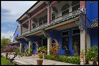 Chinese Courtyard House (Cheong Fatt Tze Mansion). George Town, Penang, Malaysia ( color)