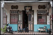 Townhouse entrance. George Town, Penang, Malaysia ( color)