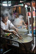 Hawker street foodstall. George Town, Penang, Malaysia ( color)