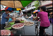 Street market, chinatown. George Town, Penang, Malaysia ( color)