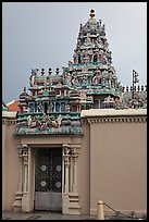 South Indian Sri Mariamman Temple. George Town, Penang, Malaysia ( color)