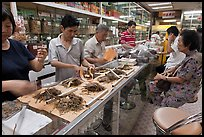 Store selling traditional Chinese medicine herbs. Kuala Lumpur, Malaysia (color)