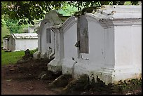 History Dutch cemetery, Bukit St Paul. Malacca City, Malaysia (color)