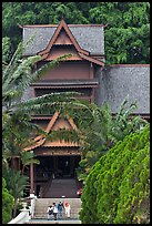 Sultanate Palace, St Paul Hill. Malacca City, Malaysia (color)