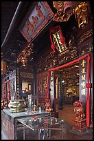 Cheng Hoon Teng traditional Chinese temple. Malacca City, Malaysia