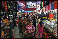 Bugis Street Market. Singapore (color)