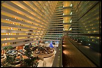 Inside Marina Bay Sands hotel. Singapore ( color)