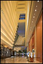 Main lobby, Marina Bay Sands hotel. Singapore ( color)
