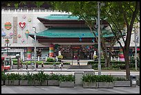 Department store, Orchard Road. Singapore ( color)