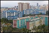 Appartment buildings from Mt Faber. Singapore ( color)