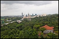 Mount Faber Park. Singapore (color)