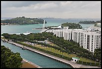 Keppel Bay. Singapore (color)