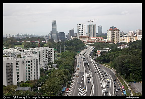 West Coast Highway. Singapore (color)