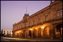 Presidencial Municipal (city hall) at dawn. Guadalajara, Jalisco, Mexico ( color)