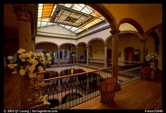 Historic Hotel Frances Guadalajara Jalisco Mexico