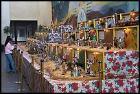 Exhibit showing scenes from the bible, Tlaquepaque. Jalisco, Mexico