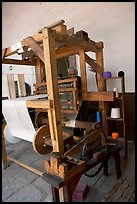 Traditional weaving machine, Tlaquepaque. Jalisco, Mexico ( color)