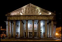 Teatro Degollado by night. Guadalajara, Jalisco, Mexico ( color)
