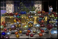 Glass spheres, Tonala. Jalisco, Mexico