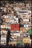 Houses and Cajaon de Garcia Rojas. Zacatecas, Mexico